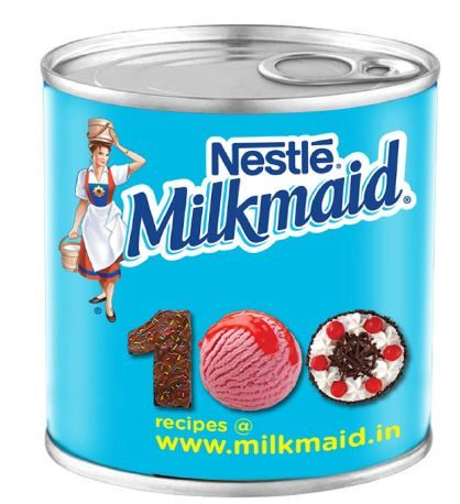 Nestle MILKMAID Sweetened Condensed Milk, 400g Tin at rs.111
