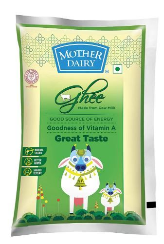 Flat 23% off on Mother Dairy Cow Ghee, 1L