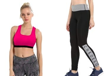 Up to 80% off on Womens Active Wears from Rs.199