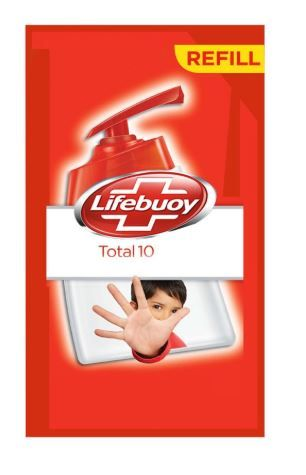 Flat 50% off on Lifebuoy Total 10 Active Silver Formula Hand Wash - 750 ml
