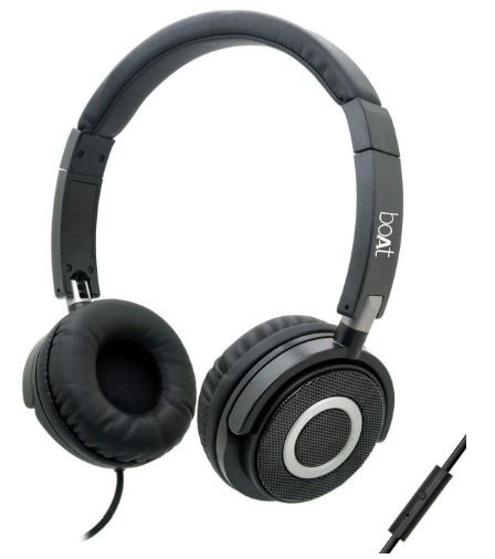Flat 76% off on Boat BassHeads 900 Wired Headphone with Mic