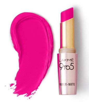 Flat 43% off on Lakme 9 to 5 Primer Matte Lip Color, Pink Post MP20, 3.6g