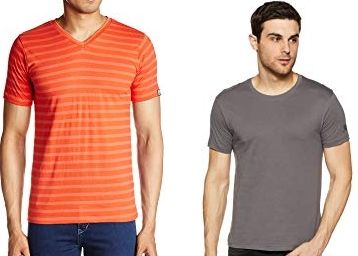 T-shirts & Polos at Minimum 50% Off + Free Shipping