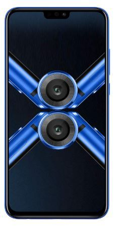 Flat 28% off on Honor 8X (Blue, 4GB RAM, 64GB Storage)
