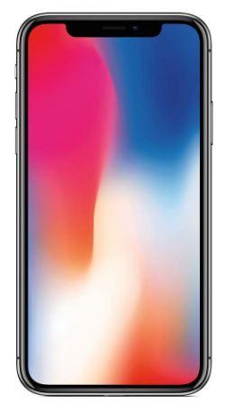 Flat 24% off on Apple iPhone X (64GB) - Silver
