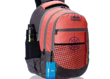 Apply 25% Code: Devagabond 42 Ltrs Peach School Backpack (Sweager_2_ Peach)