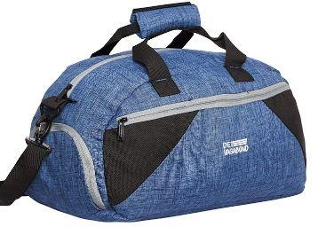 Apply 35% Off: Devagabond Polyester 52 cms Blue Gym Tote (Dumble_1_ Blue)