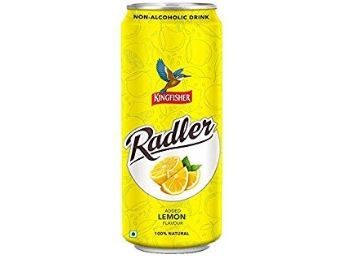 KingFisher Radler Ginger Lime Non Alcoholic Malt Drink Can, 300ml at Rs.1