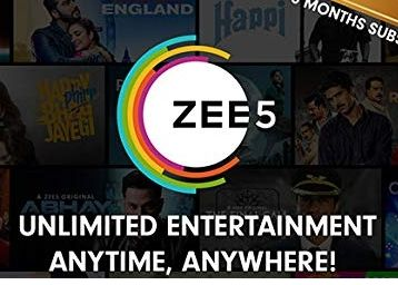 Flat 25% off at checkout || ZEE5 Half Year Subscription Digital Voucher