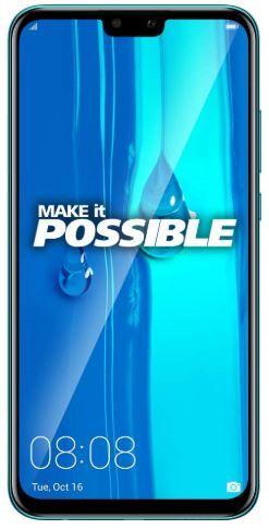 Flat 26% off on Huawei Y9 2019 (Sapphire Blue, 4GB RAM, 64GB Storage)