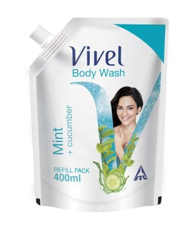 Vivel Body Wash, Mint and Cucumber, 400 ml at Rs.99