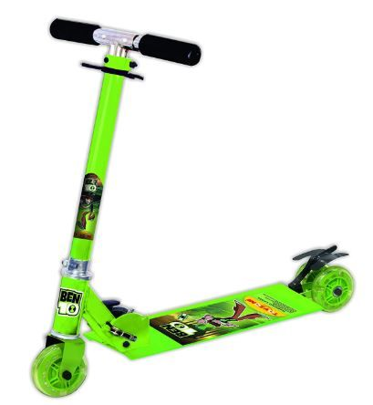 Flat 25% off on Toyzone Ben 10 Square Scooter, Green