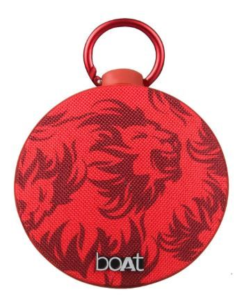 Flat 67% off on boAt Kings XI Punjab Edition Stone 260 Portable Bluetooth Speaker (Red)