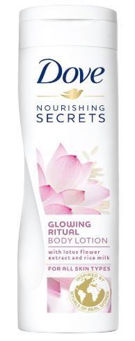 Flat 50% off on Dove Glowing Ritual Body Lotion, 250ml