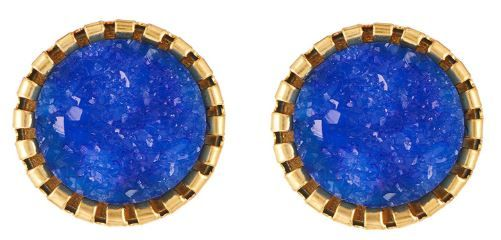 Flat 835 off on Apara Blue Stud Earrings Jewellery for Girls/Women