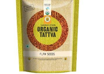 Organic Tattva Flax Seeds, 100g Worth Rs.35 at Just Rs.17