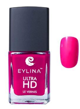 Flat 35% off on EYLINA Ultra Hd Nail Polish, Rani Pink, 9ml