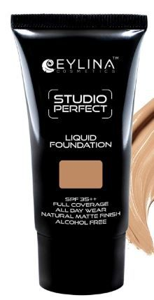 Flat 22% off on EYLINA Stud Prfct Liq Foundation, Dark Cream, 20ml