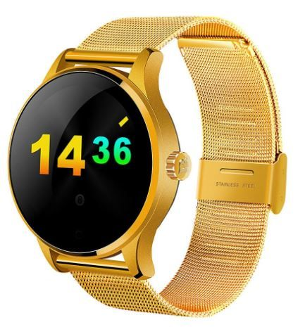 Flat 47% off on OPTA Stainless Steel Bluetooth Heart Rate Smartwatch