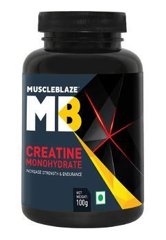 MuscleBlaze Creatine , 100 gm Unflavoured at Rs. 187