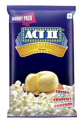 Flat 50% off on ACTII Popcorn RTE White Cheddar, 50g (Buy 1 Get 1 Free)
