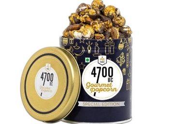 4700BC Mocha Walnut Chocolate Popcorn, Tin, 650g at Just Rs.450