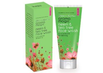Flat 25% off on  Aroma Magic Neem And Tea Tree Face Wash, 100ml