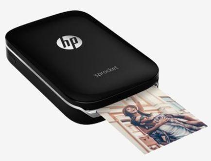 Lowest Online - HP Sprocket Z3Z92A Portable Photo Printer (Black)