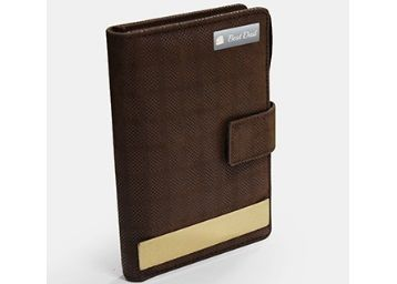 2 In 1 Brown Textured Notepad Calculator With Pen @ Rs.275