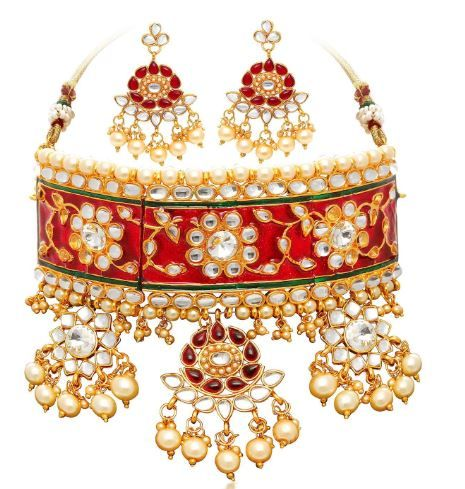 Flat 87% off on Sukkhi Gold Plated Jewellery Set for Women