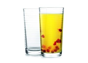 Cello Reno Glass Tumbler Set, 260 ml, Set of 2, Transparent