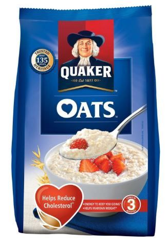 Quaker Oats Pouch, 1kg at Rs. 140
