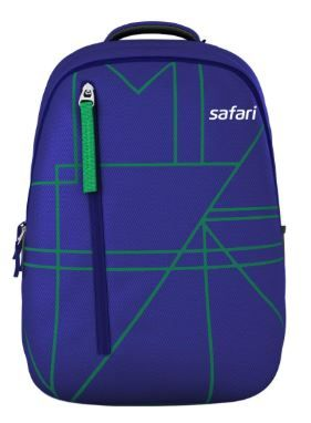 Flat 66% off on Safari 32 Ltrs Blue Casual Backpack