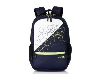 Flat 50% off on Solimo Cubes Laptop Backpack for 15.6-inch Laptops