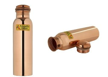 Flat 77% off Angelic Copper Bottle with Lacquer Coating, 1 Liter, Copper