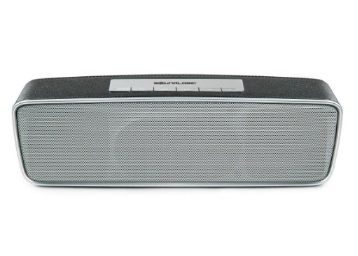 Sound Logic Bluetooth Thump Speaker with Built-in FM Radio for Mobile/Tablet Speaker Laptop