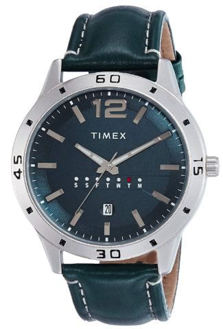 Min. 65% off on Timex Analog Blue Dial Men