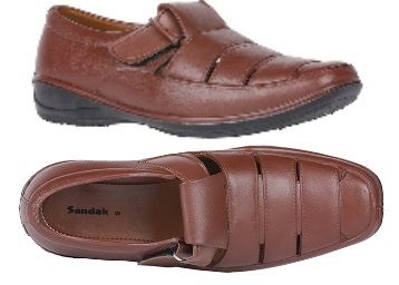 Bata Brown Sandals @ Rs.89 + Free Shipping