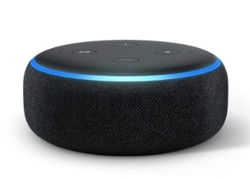Flat 44% off on Echo Dot (3rd Gen) - New and improved smart speaker with Alexa (Black)