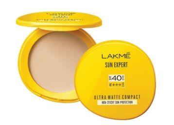 Lakme Sun Expert Ultra Matte SPF 40 PA+++ Compact, 7g At Rs.154