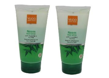 VLCC Neem Face Wash Combo Pack of 2 (150 ml*2)