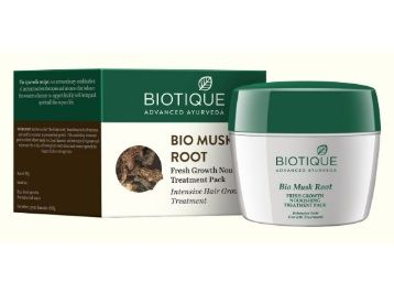 Flat 30% off Biotique Bio Musk Root Fresh Growth Nourishing Treatment, 230g