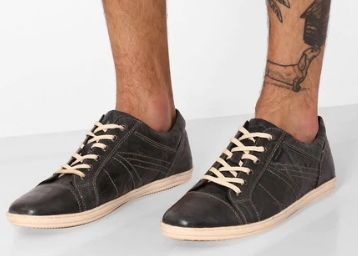 Flat 85% OFF on RED TAPE Genuine Leather Lace-Up Casual Shoes at Just Rs. 569