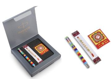 Parker Vector Special Edition Roller Ball Pen with Rakhi Combo At Rs.279