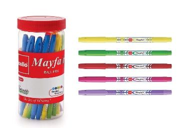Cello Mayfair Ball Point Pen Set - Pack of 25 (Blue) At Rs.105