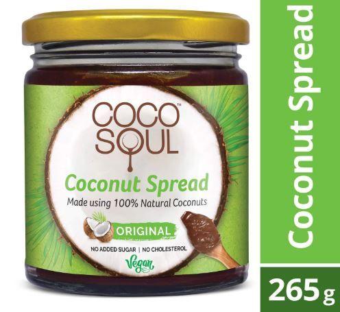 Apply 40% Coupon - Coco Soul Coconut Spread, Original, 265g