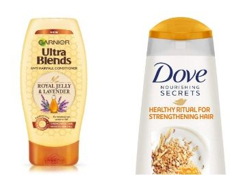 Min. 40% Off on Hair care products Shampoo, conditioner [Dove, Garnier, Clinic Plus]