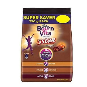 Cadbury Bournvita 5 Star Magic Health Drink Pack - 750g At Rs. 244