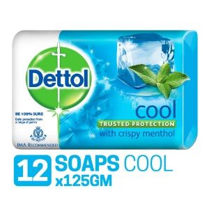 Apply Coupon - Dettol cool Soap - 125 g (Pack of 12)