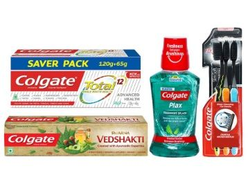 Colgate Total Advanced Health Complete Oral Care Kit At Rs. 355